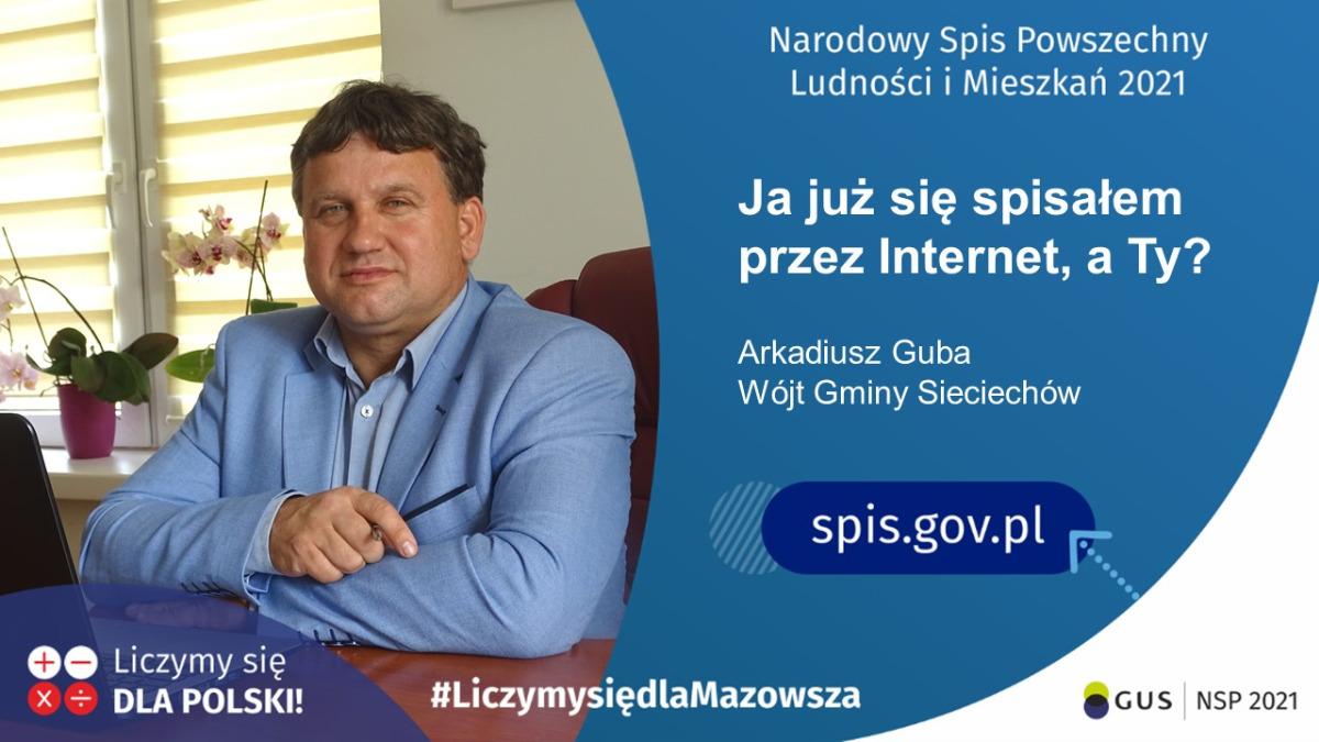 Ambasador NSP 2021 - Wójt Gminy Sieciechów